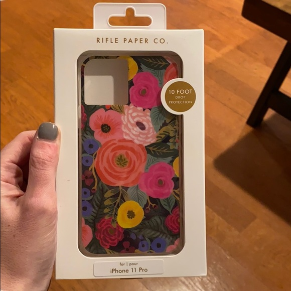 New never used rifle paper iPhone cover for 11 pro